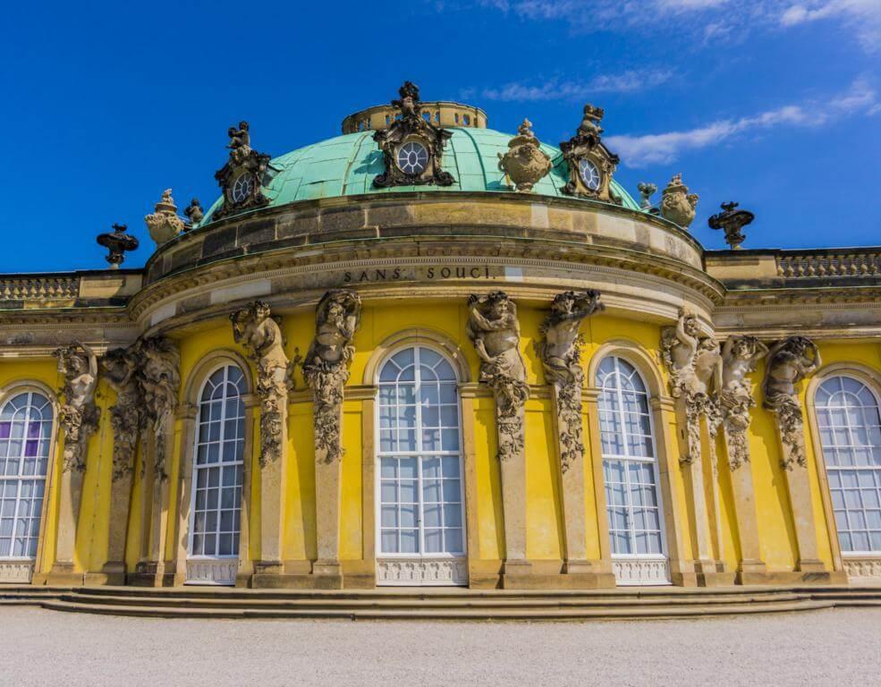 Palacio de Sanssouci.