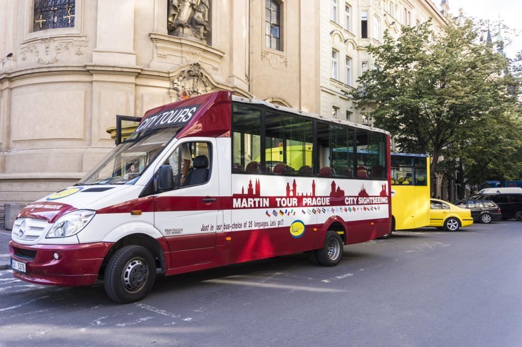 Paseo en Autobús Turístico de Praga.