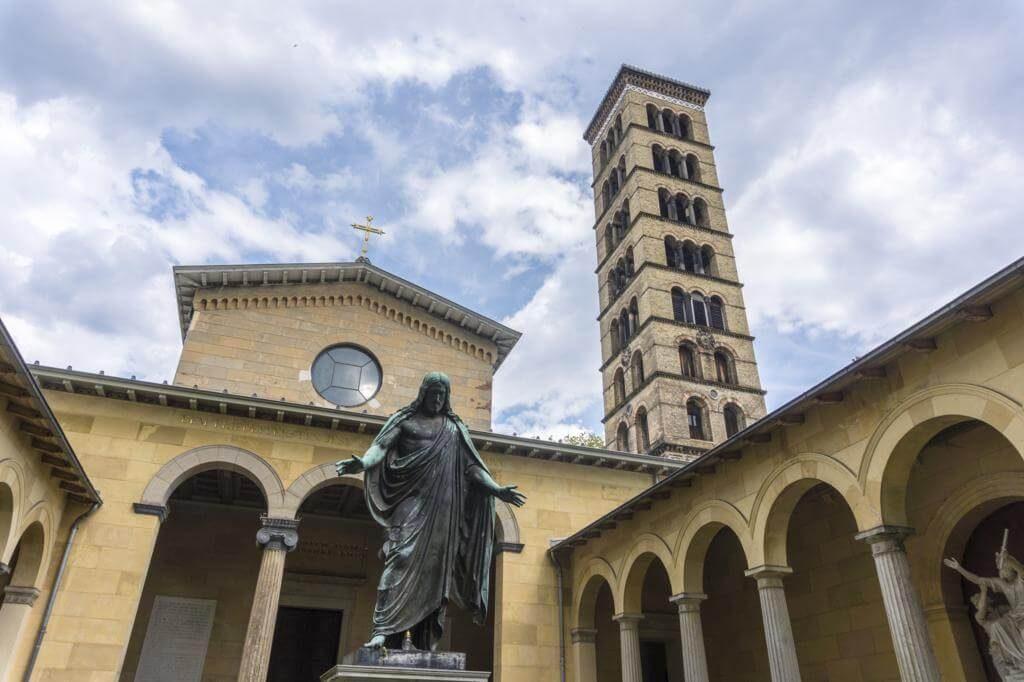¿Qué ver en Potsdam en un día? Iglesia de la Paz.
