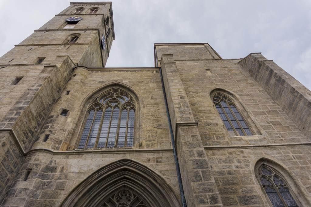 Iglesia de San Jacobo en Kutná Hora.