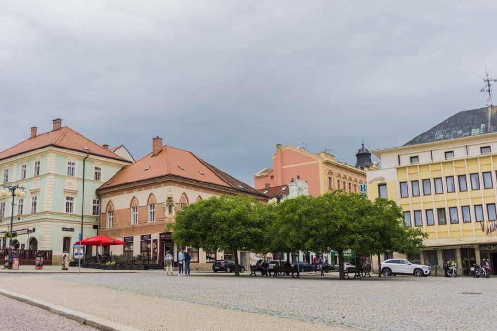 ¿Qué ver en Kutná Hora? Plaza Palackého.