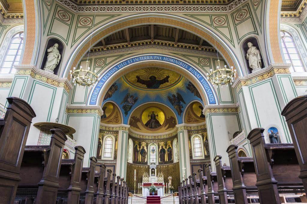 Iglesia de San Pedro y San Pablo en Potsdam.