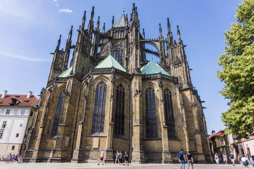 Catedral de Praga, una de las ciudades más bonitas de la República Checa.