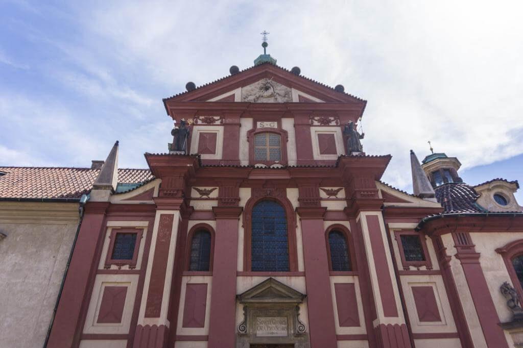 Basílica y Convento de San Jorge.