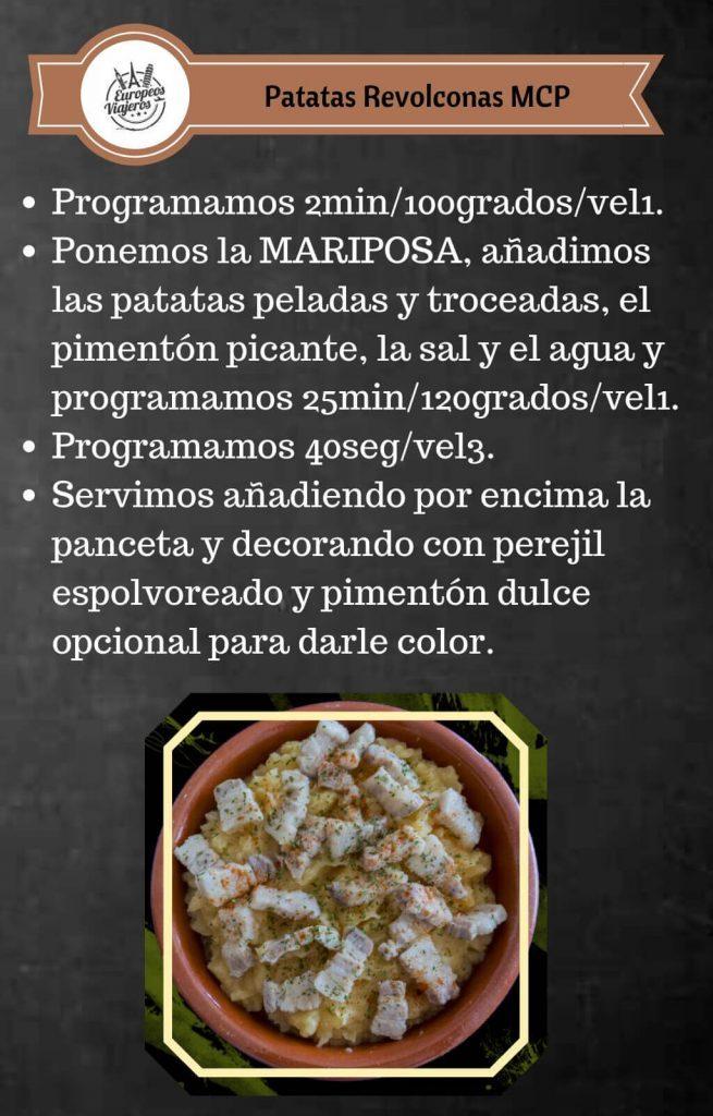 Receta de Patatas Revolconas.