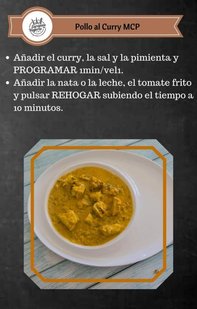 Receta de Pollo al Curry.