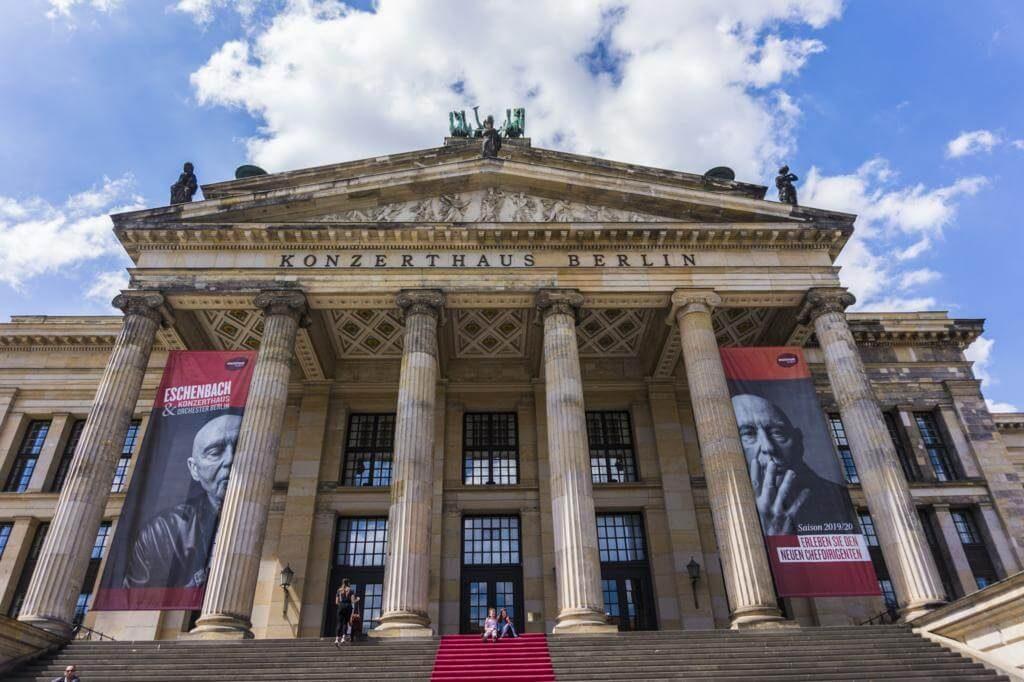 La Sala de Conciertos de Berlín.