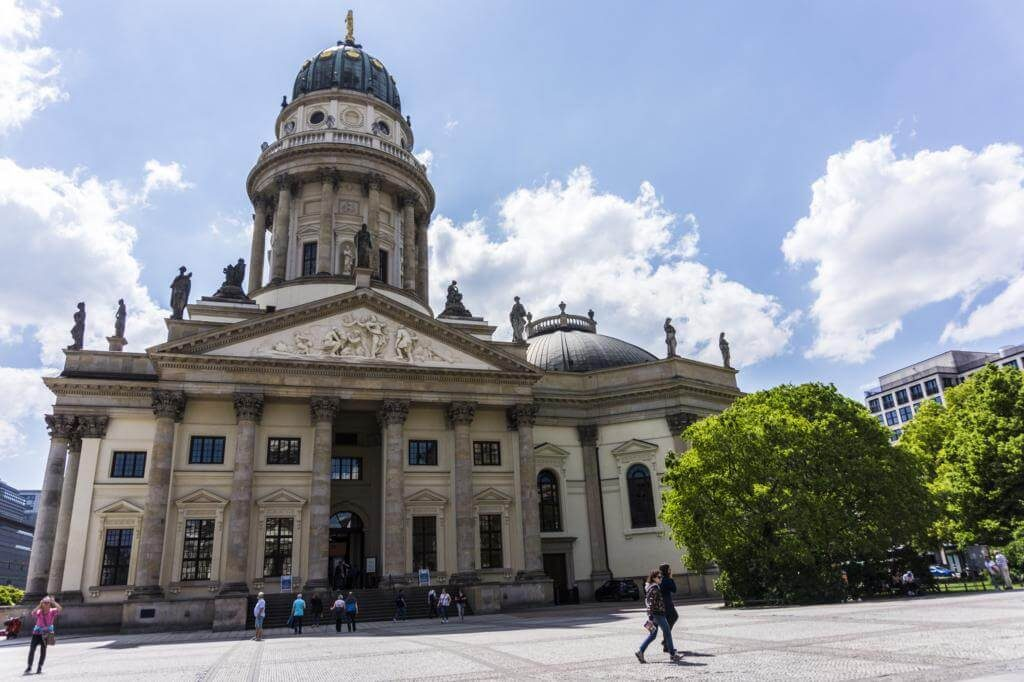 Catedral Alemana de Berlín.