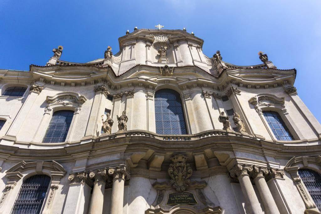 Iglesia de San Nicolás de Praga.