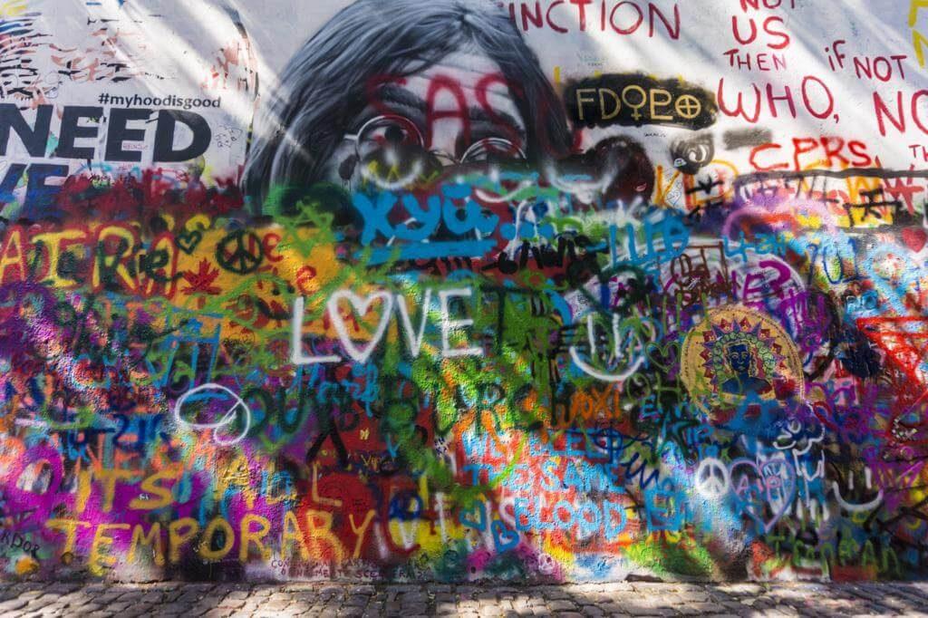 Muro de John Lennon.