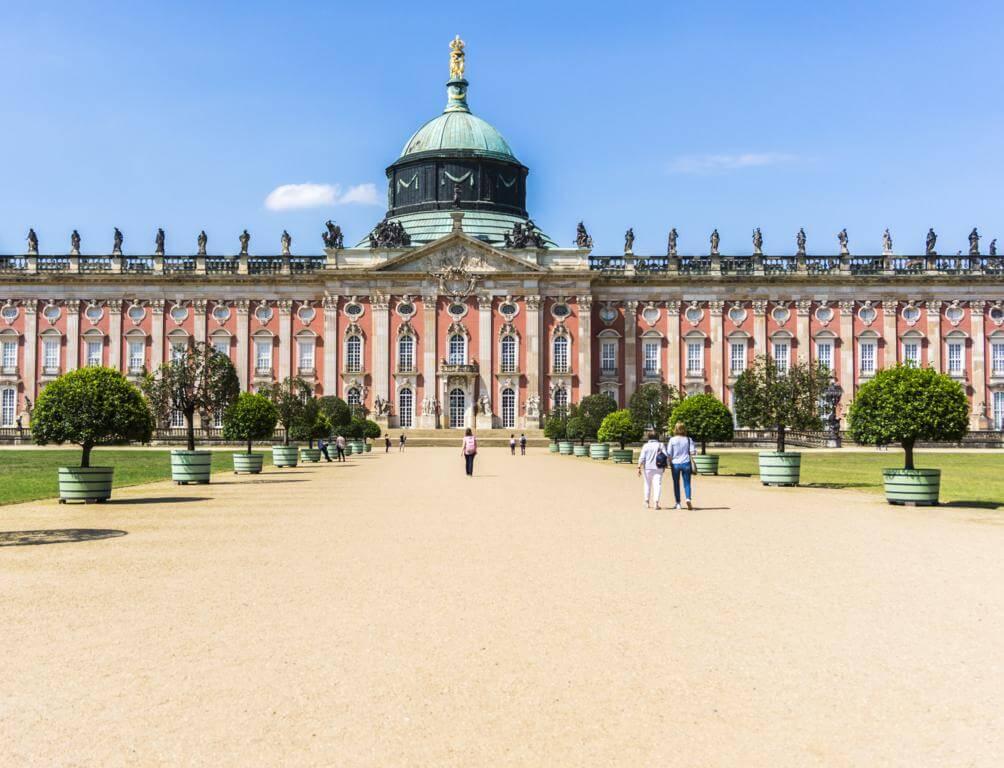 Palacio Nuevo de Potsdam.