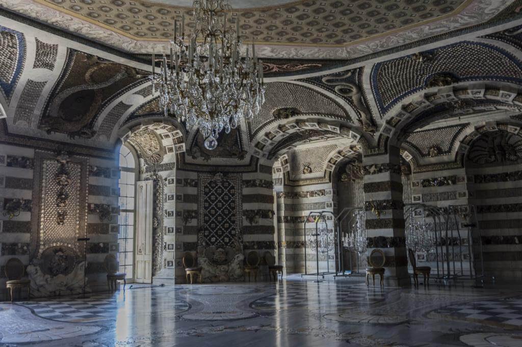 Interior del Palacio Nuevo de Potsdam.