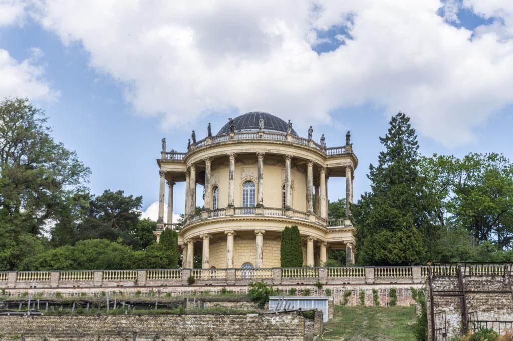 Belvedere en el Klausberg.