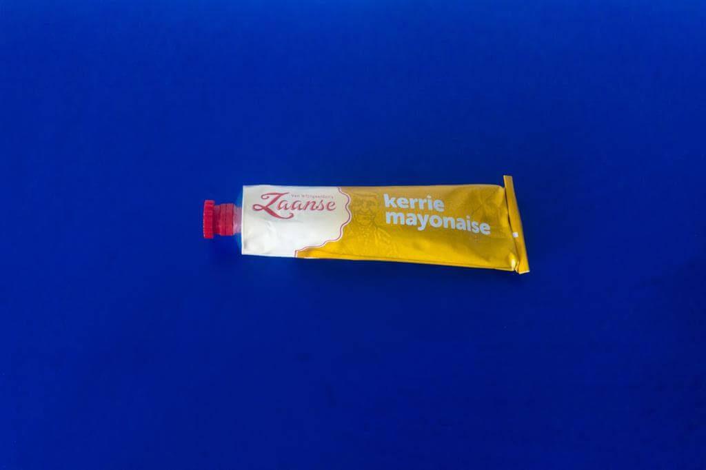Vamos a comprar productos de Holanda online: Zaanse Mayonesa con Curry.