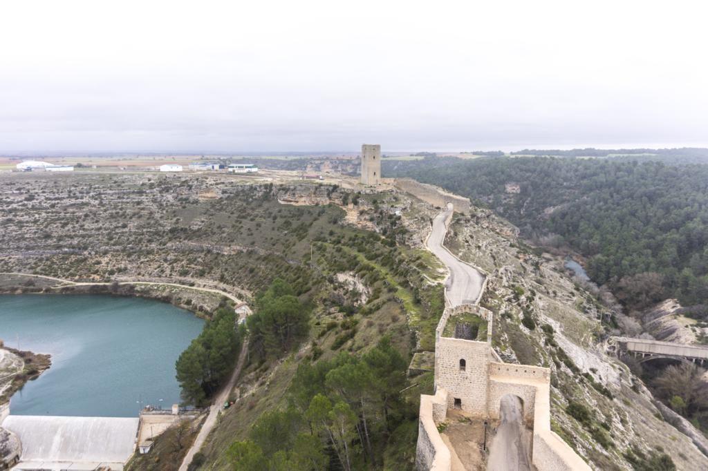 Alarcón desde el castillo.Alarcón (Cuenca - Castilla La Mancha).