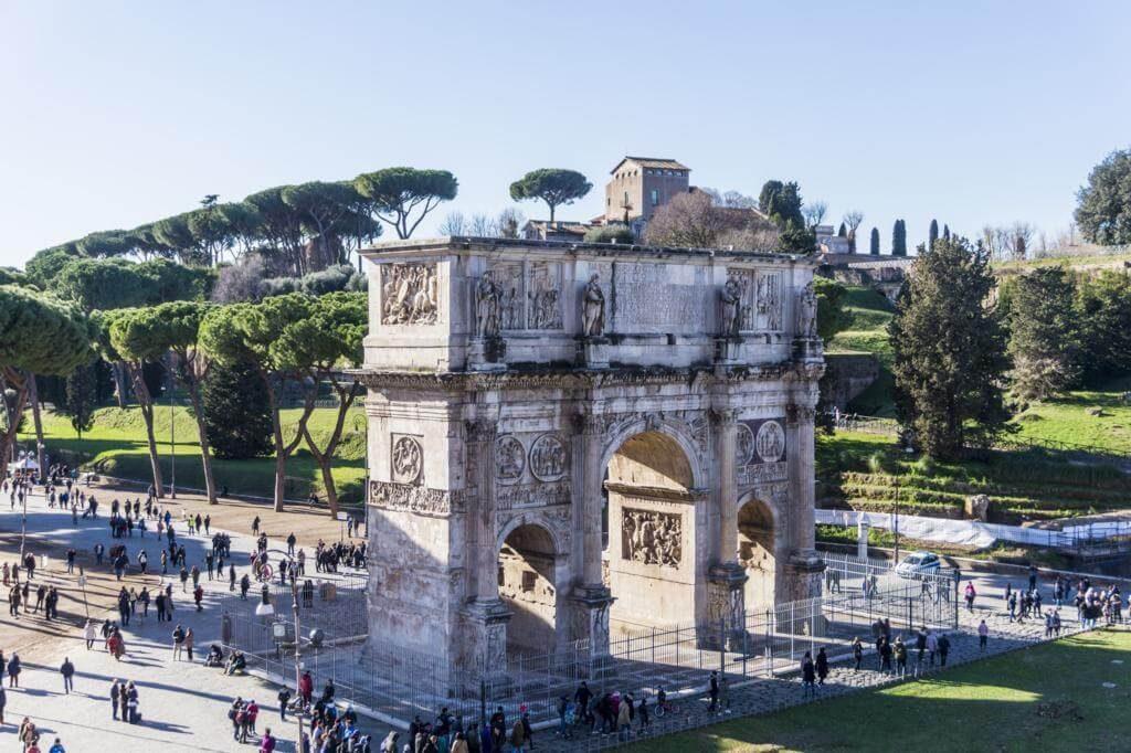 ¿Qué ver en Roma en 3 días? Arco de Constantino.