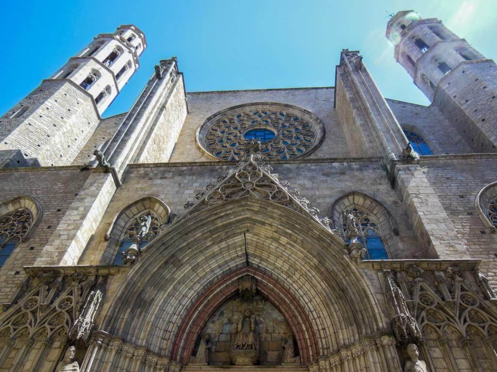 Basílica de Santa María del Mar.