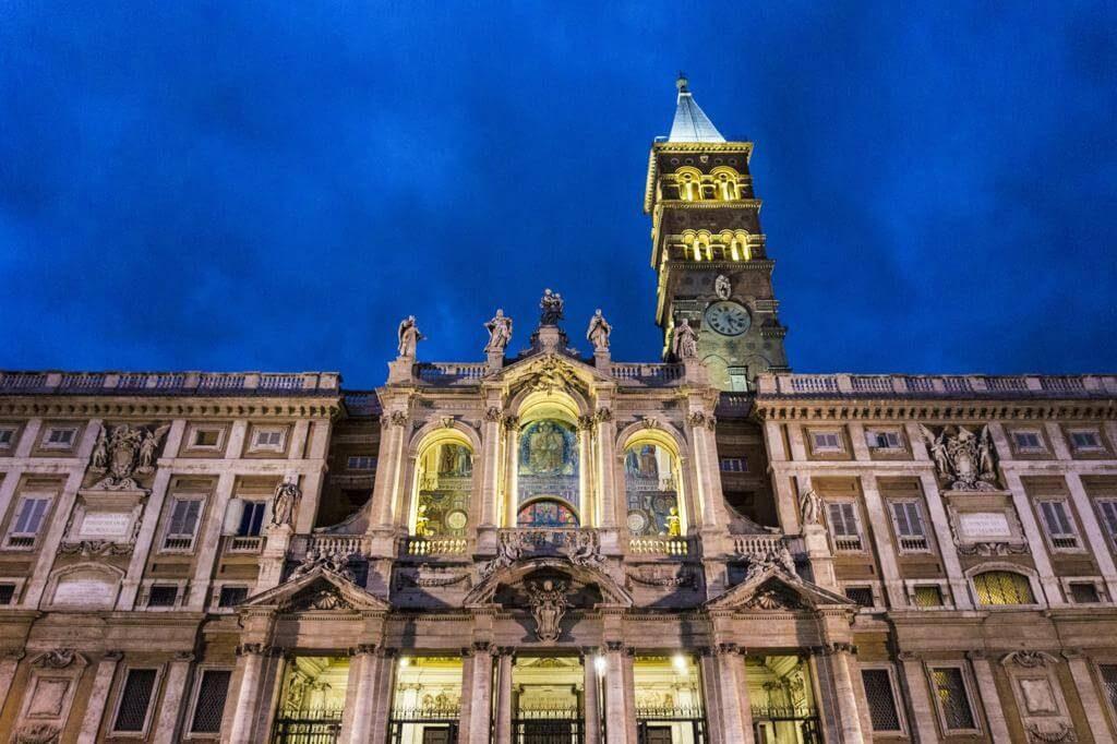 Basílica de Santa María la Mayor.