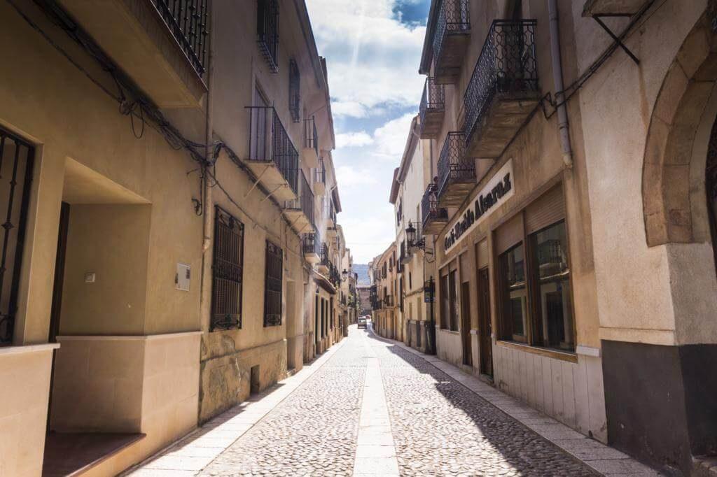 Calles de Alcaraz.