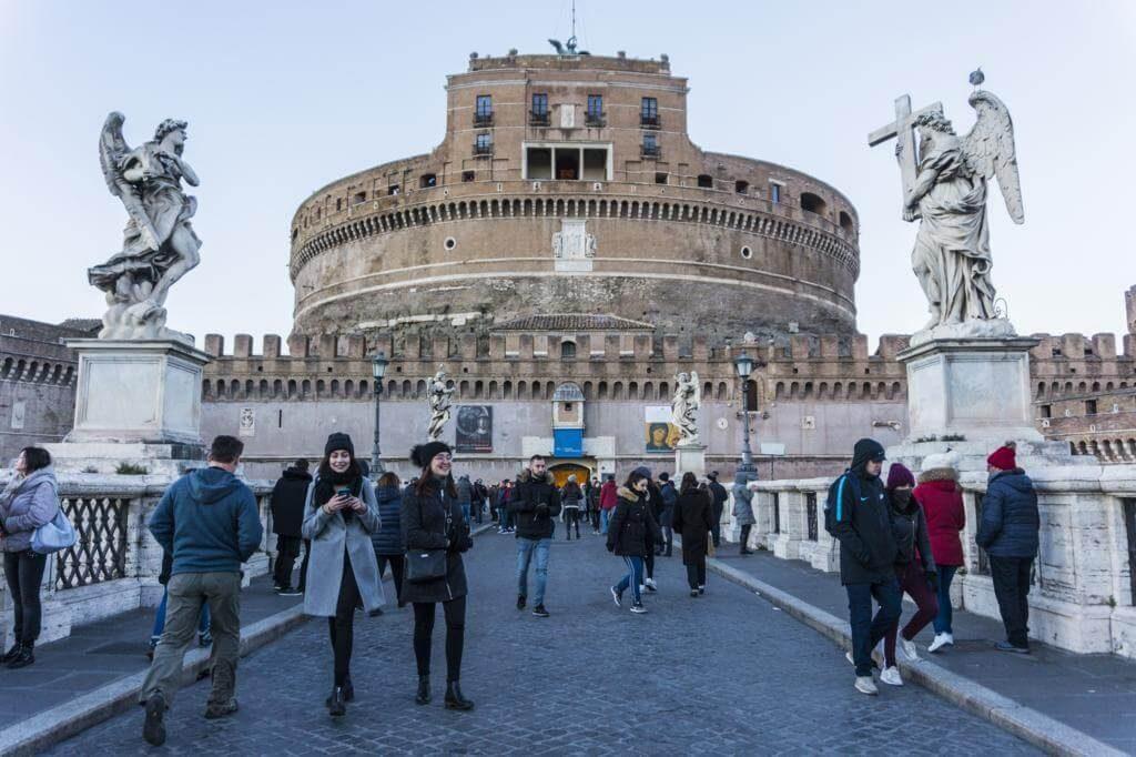 ¿Qué ver en Roma en 3 días? Castillo de Sant'Angelo.