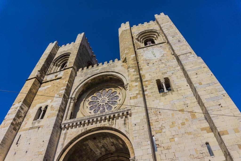 Catedral de Lisboa.