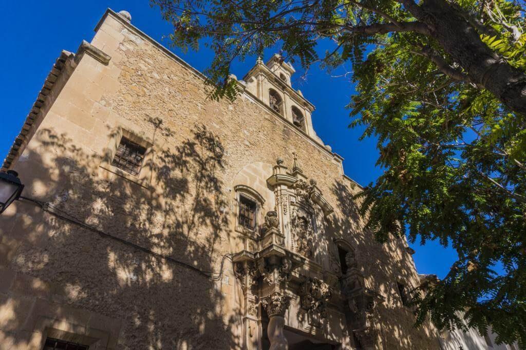 Convento de las Agustinas en Almansa.