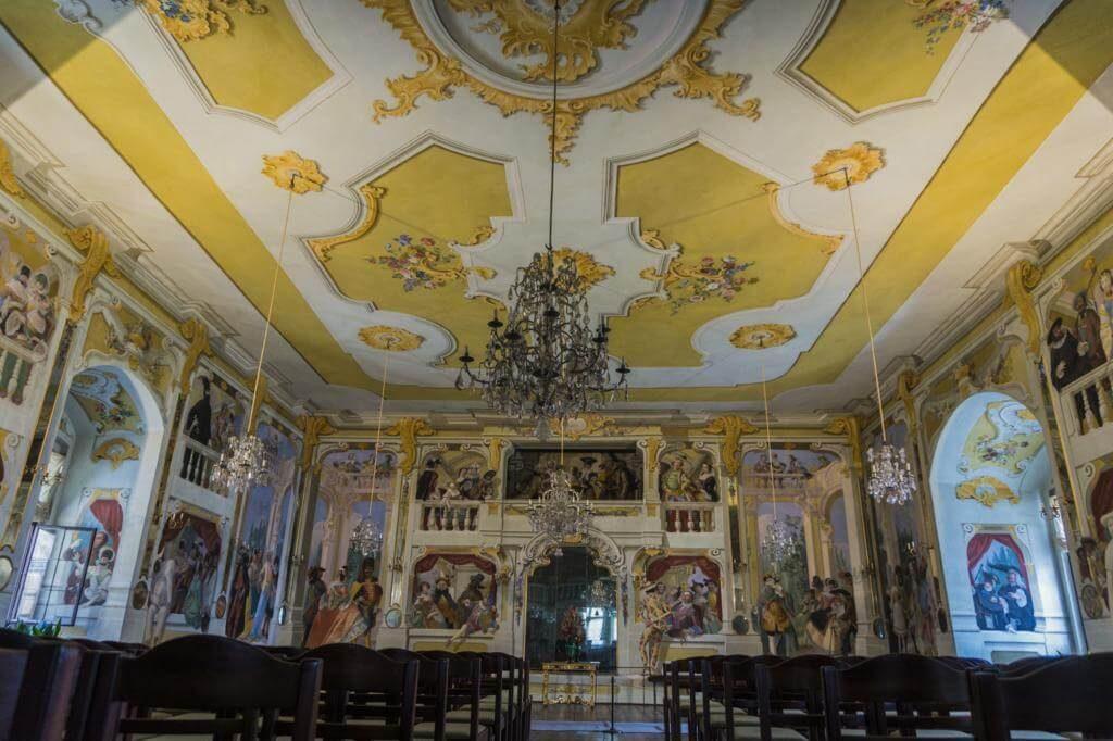 Dependencia del Castillo de Cesky Krumlov.