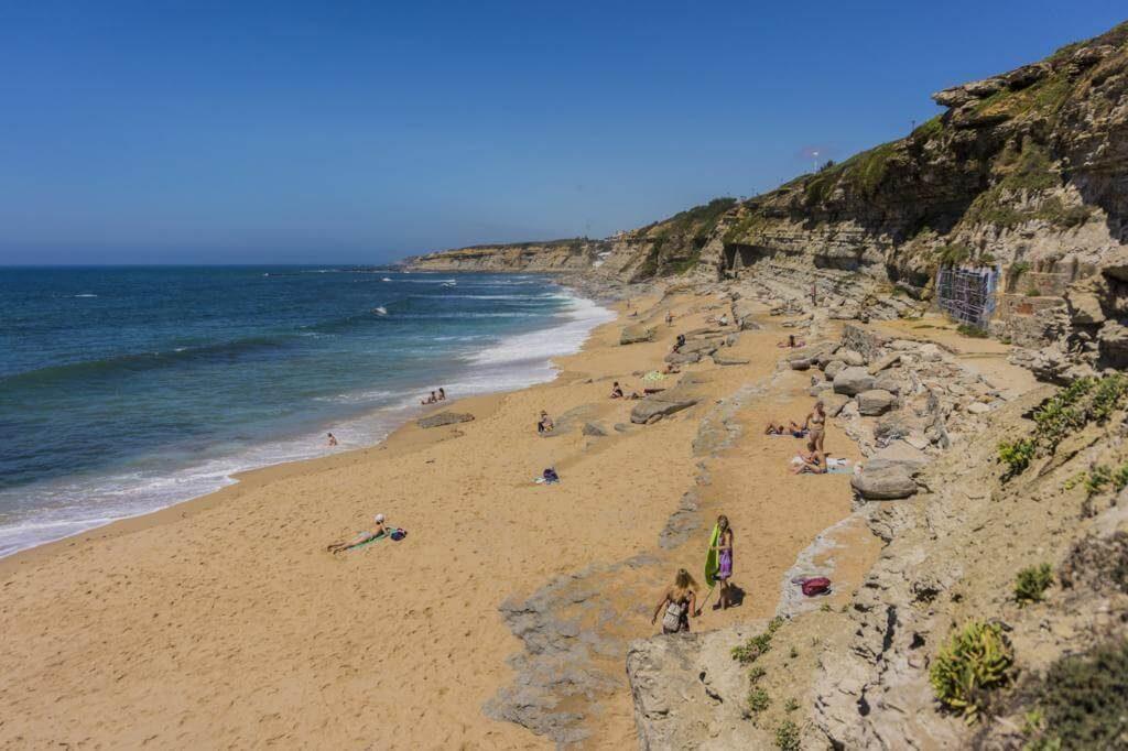 Playa en Ericeira.