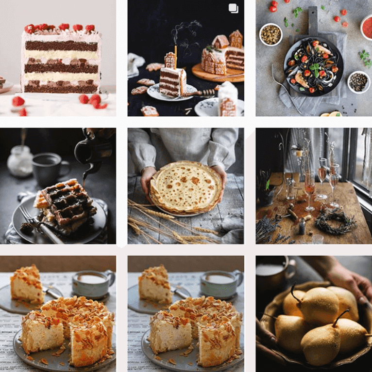 Food Hashtags by @Instagram