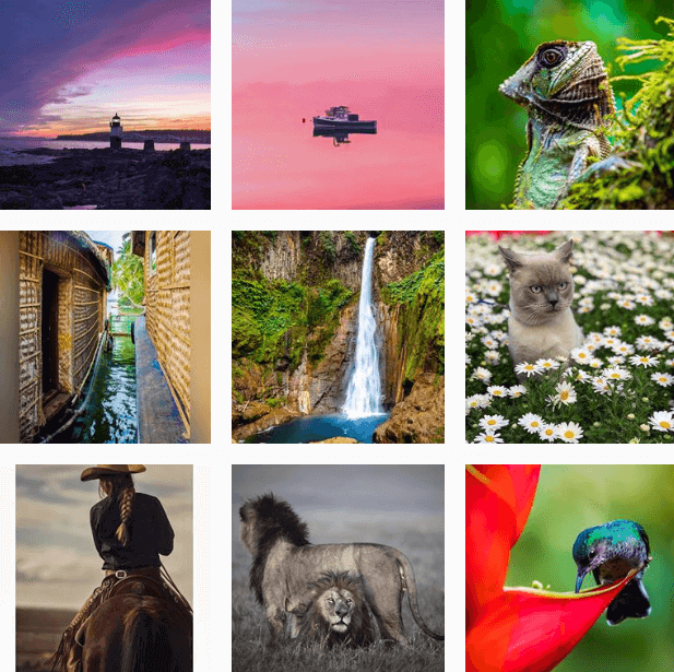 Hashtags de Fotografía by @Instagram