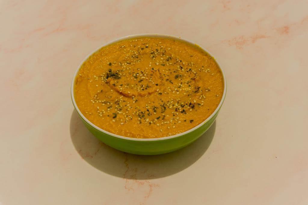 Gazpacho de Zanahoria en Monsieur Cuisine Plus