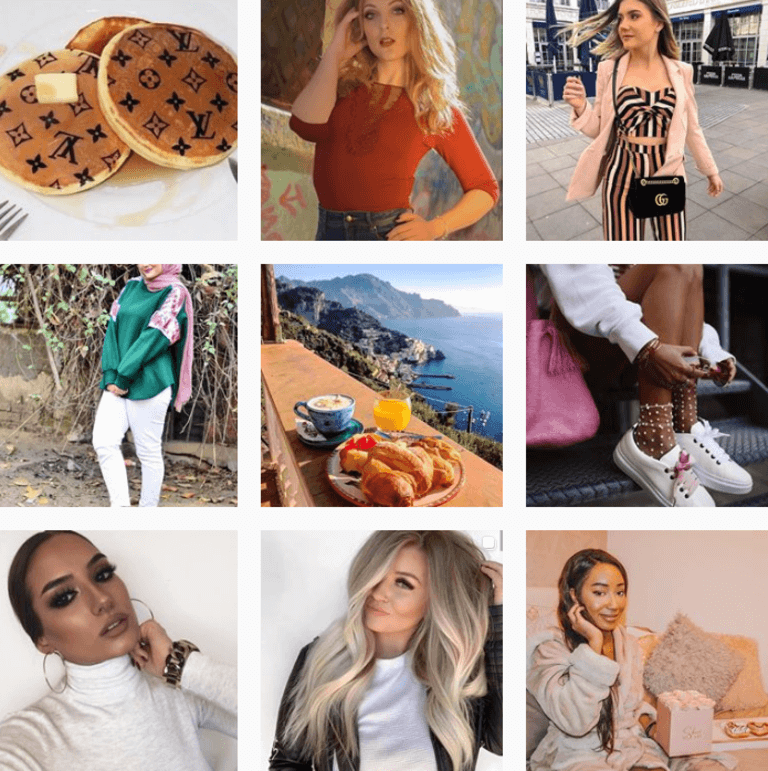 Hashtags de Moda by @Instagram