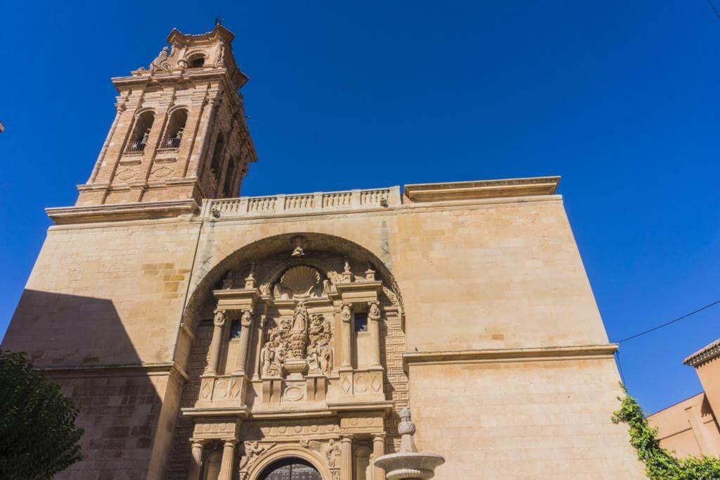 Iglesia de la Asunción en Almansa.