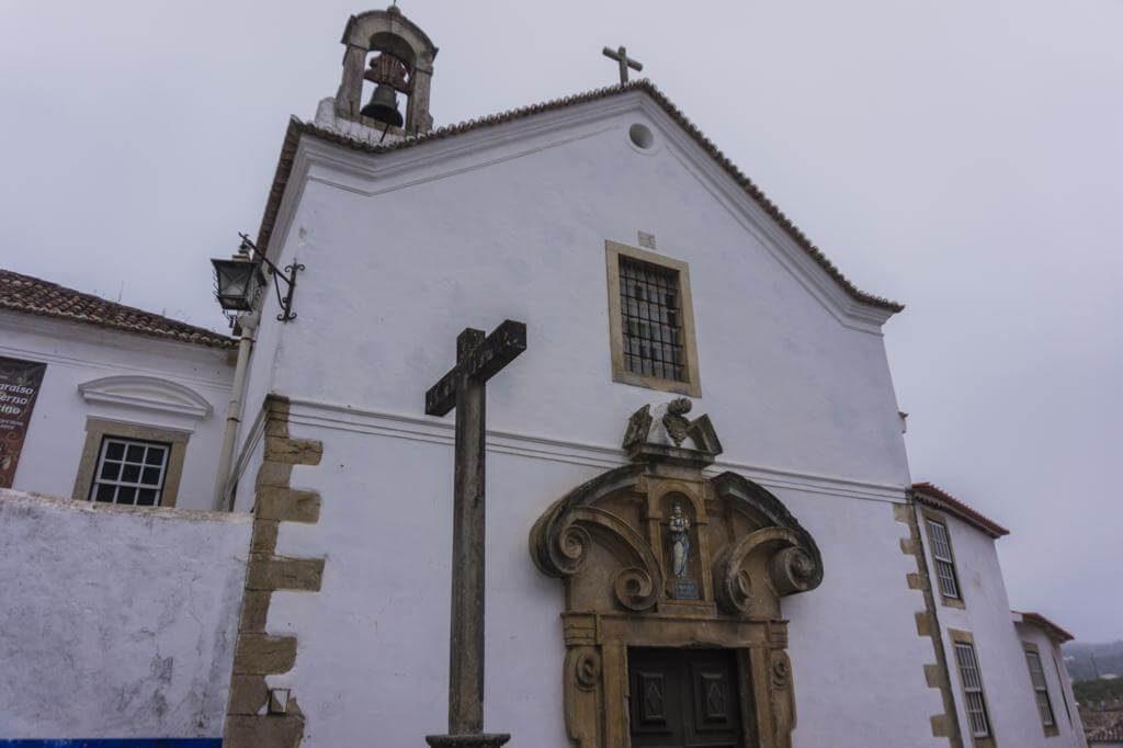 Iglesia da Misericordia en Óbidos.