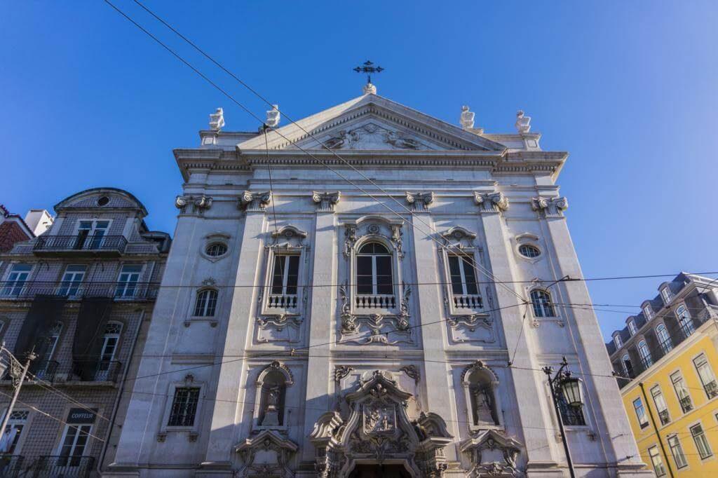 Iglesia de Nuestra Señora de la Encarnación en Lisboa.