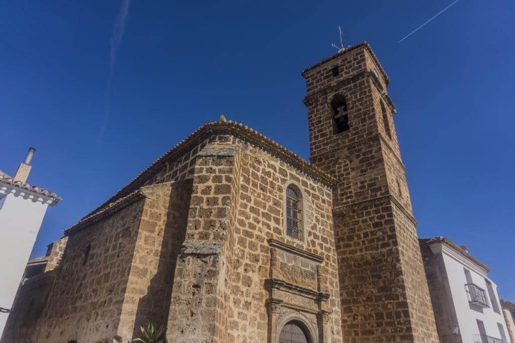 Iglesia parroquial de Santa María de la Asunción en Letur.