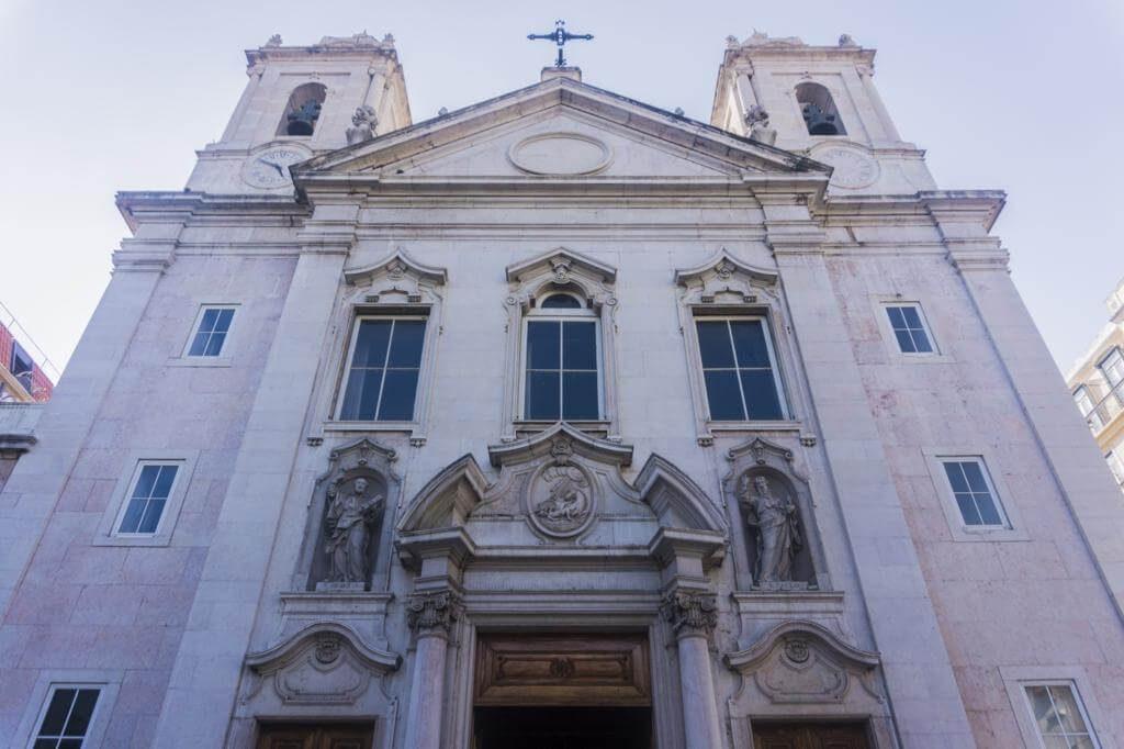 ¿Qué ver en Lisboa en dos días? Iglesia de San Pablo.