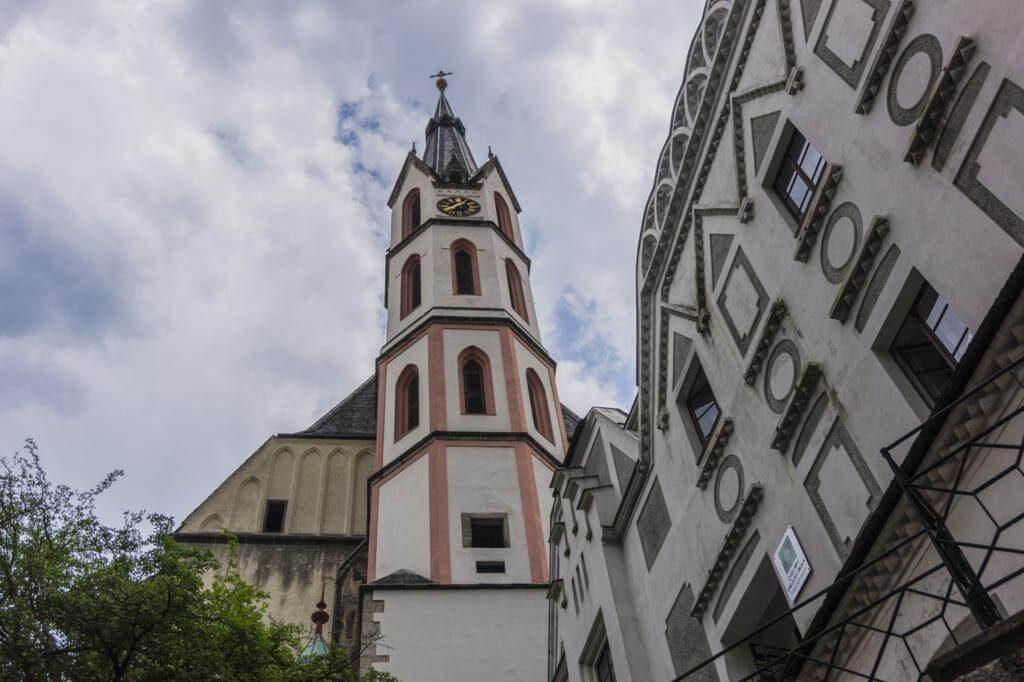 Iglesia de San Vito en Cesky Krumlov.