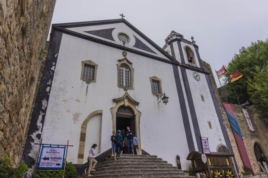 Iglesia de Santiago en Óbidos.