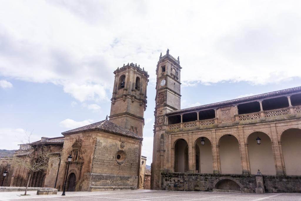 Iglesia de la Trinidad en Alcaraz.