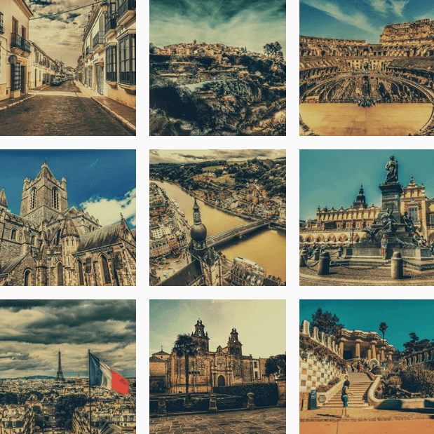 Instagram de Europeos Viajeros.