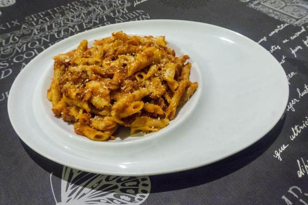 Recetas de Monsieur Cuisine Plus: Macarrones con Chorizo.