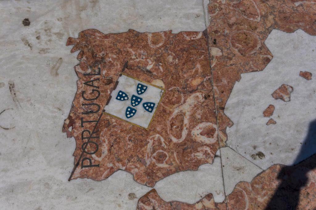 El Mapamundi de Lisboa.