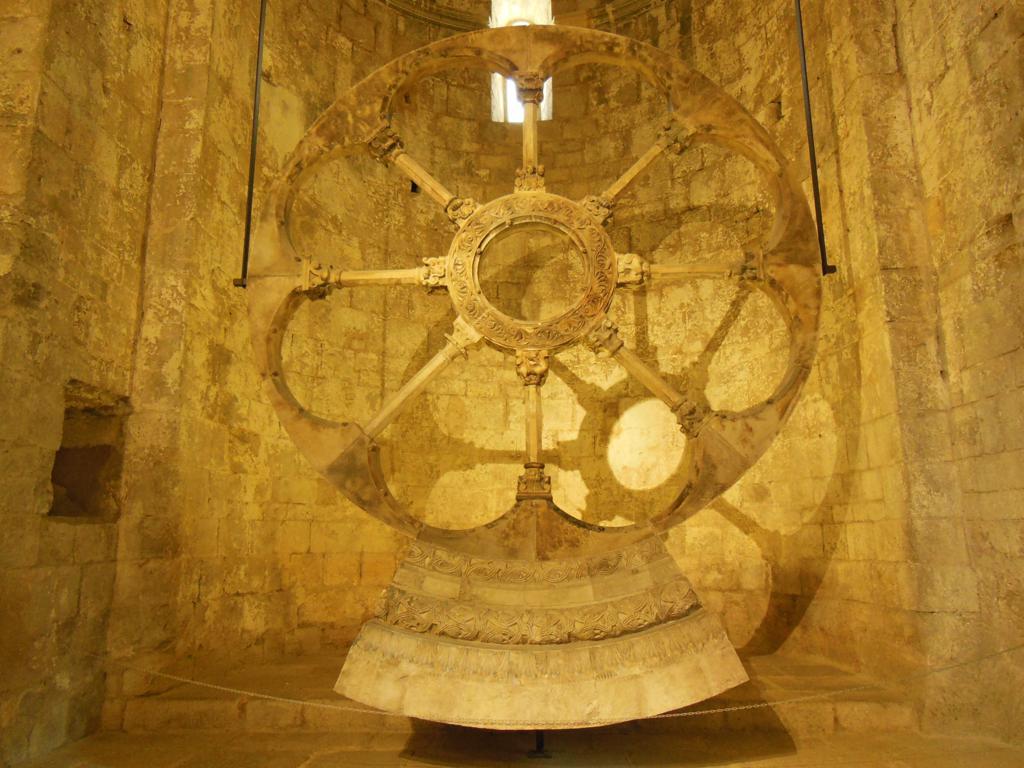 Rosetón románico del Monasterio de Sant Pere de Galligants