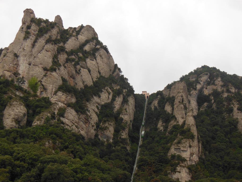 Funicular en Montserrat