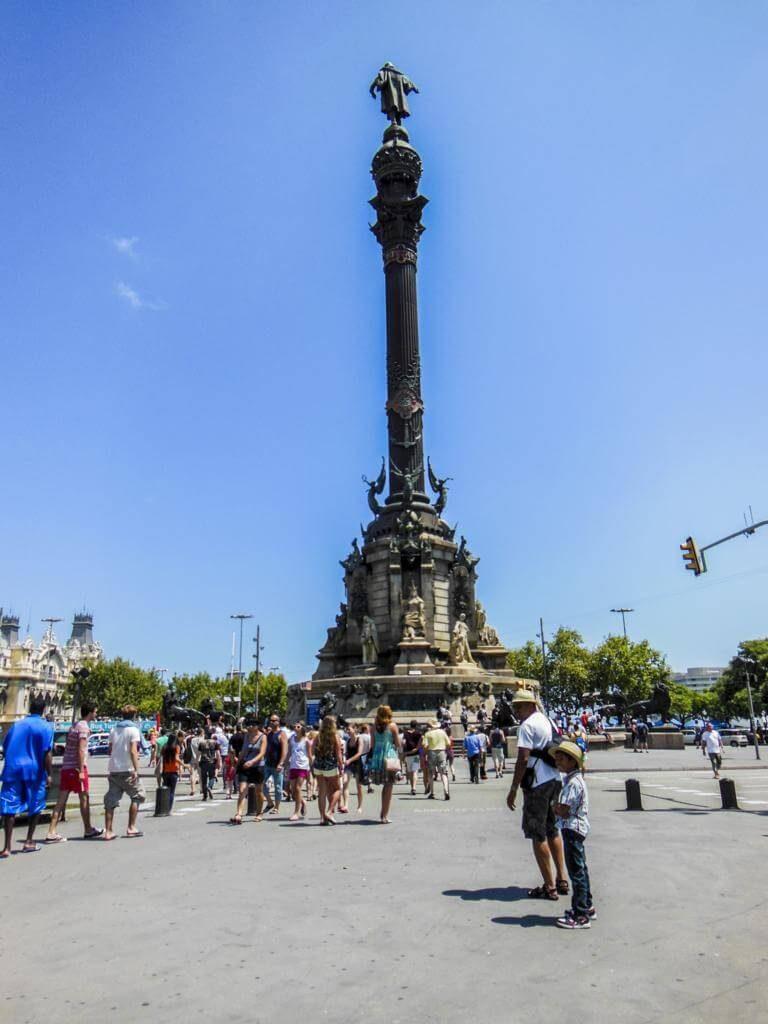 Monumento a Colón.