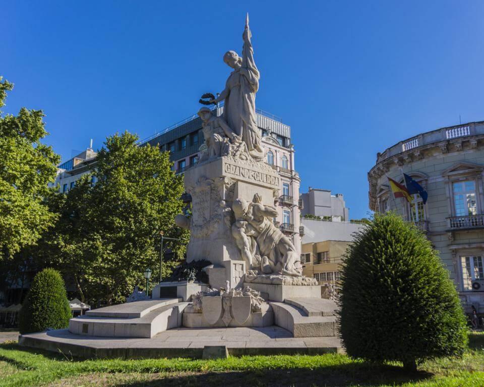 Monumento a las muertes de la Gran Guerra.
