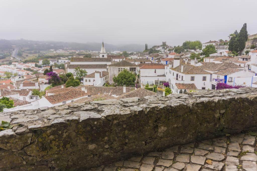 ¿Qué ver en Óbidos en un día? Las Murallas.