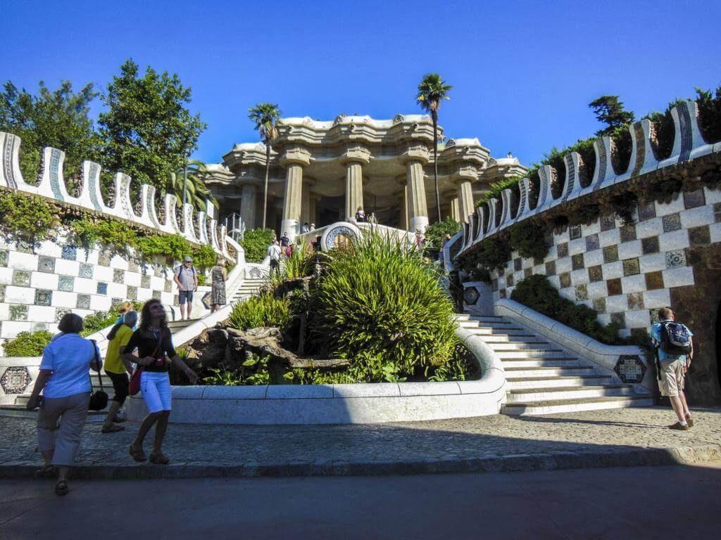 ¿Qué ver en Barcelona en 3 días? Parque Güell.