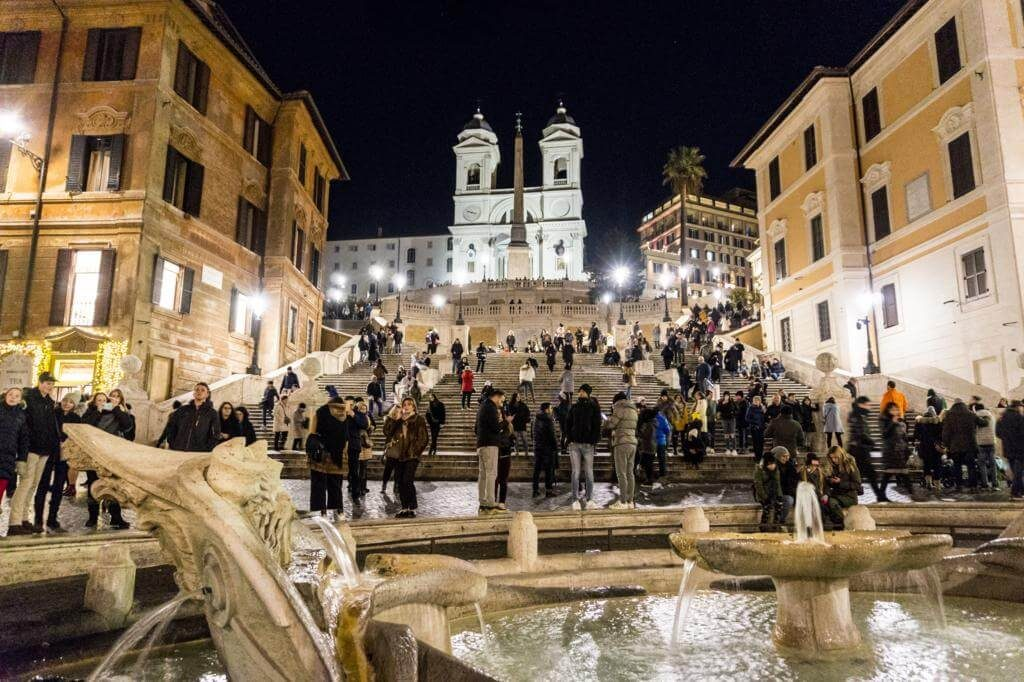 Piazza Spagna.